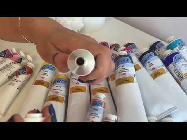 Как выбрать краски для живописи маслом. Ольга Базанова