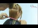 Женская стрижка Каре на удлинение от Арсена Декусара  AD studio TV  www.vi-profy.com.ua