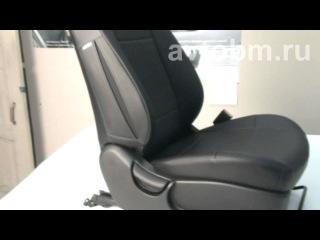 Установка авточехлов «B&M» на сиденья автомобиля «Hyundai i40»
