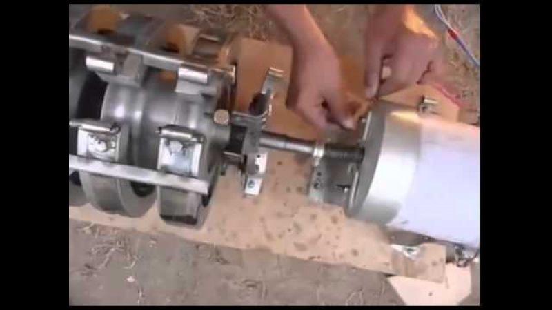 Малооборотистый генератор своими руками