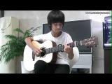 Красивая ангельская мелодия на гитаре