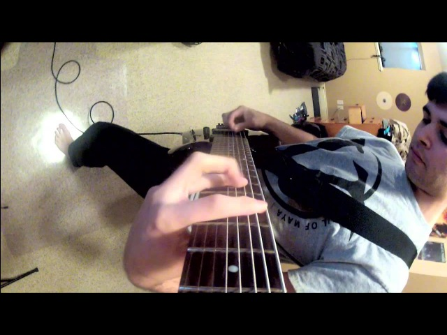 Skrillex - First of the Year (Equinox) - Djent / Metal / 8 string cover - Andrew Baena