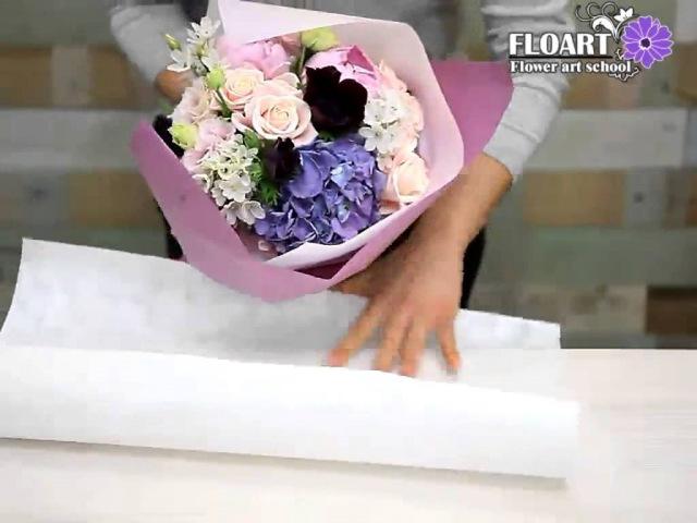 플라워레슨 :: wrapping 꽃다발포장 (플로아트 플로리스트 공개강좌)