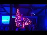 Burlesque Led Theatre @ Bora Bora beach club (2013) LED WINGS