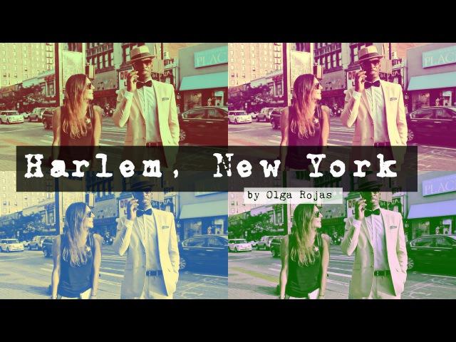 Гарлем Нью Йорк о русских АфроАмерика Город в Городе Ольга Рохас Harlem New York Olga Rojas