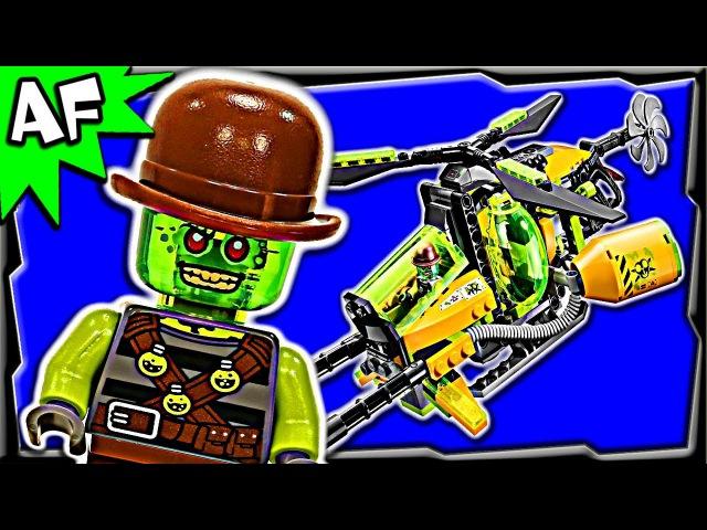 Lego Ultra Agents TOXIKITA's TOXIC MELTDOWN 70163 Stop Motion Set Review