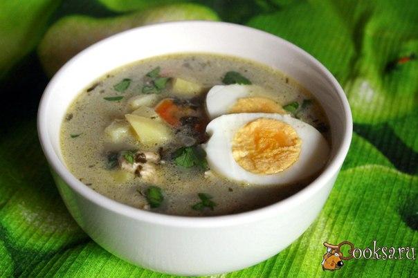 Щавельный суп с курицей рецепт с пошагово