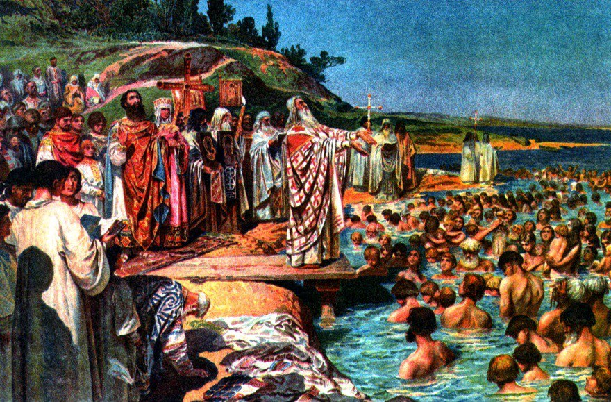 Порошенко принял участие в молебне во Владимирском соборе в Киеве по случаю Дня крещения Киевской Руси - Цензор.НЕТ 7695