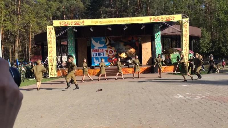 Военный танец Катюша