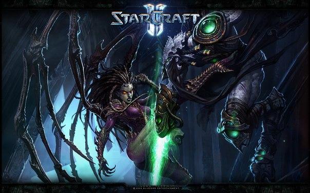 Starcraft 2 Ladder+игры зрителей