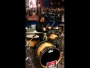 Peter Criss Gets Behind The Kit At New York Citys Dw Day 2015