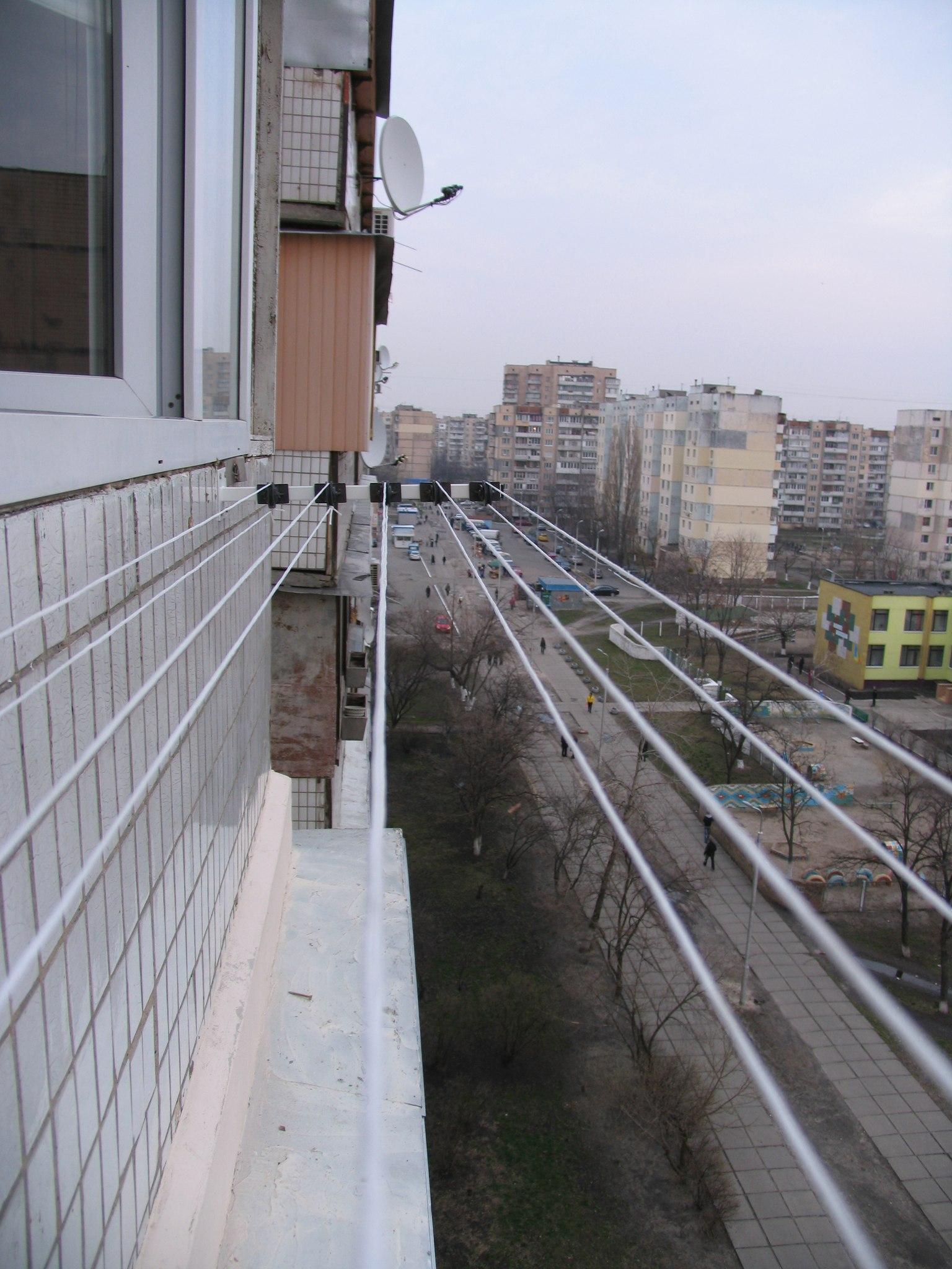 Варианты сушилок для балконов и лоджий.