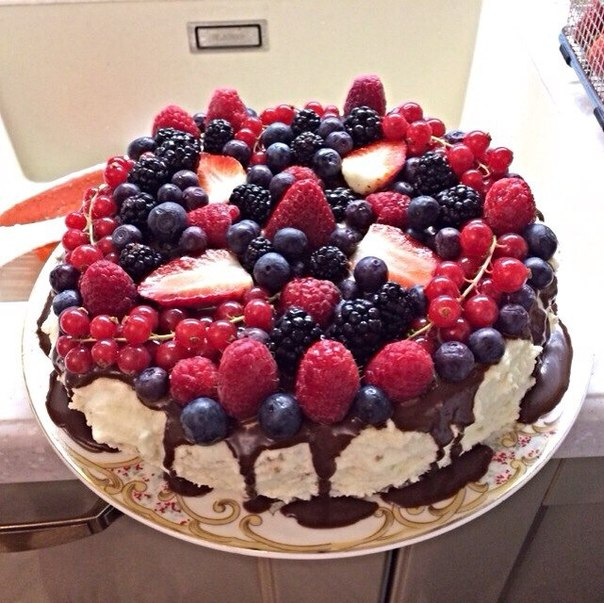 Песочный торт с варёной сгущенкой фото 5