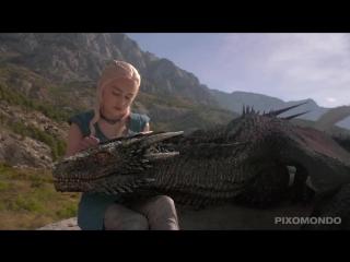 Как рисовали драконов из