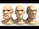 Голова\портрет моделинг