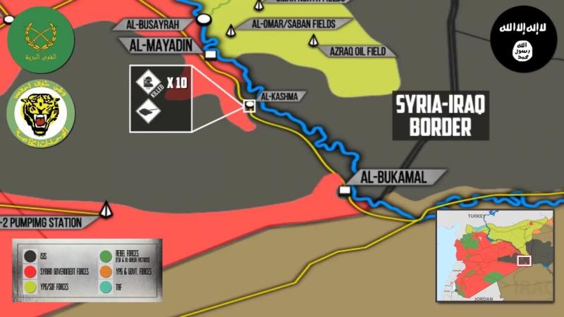 Syrian War Report – November 17, 2017: Government Forces Once Again Storming Al-Bukamal