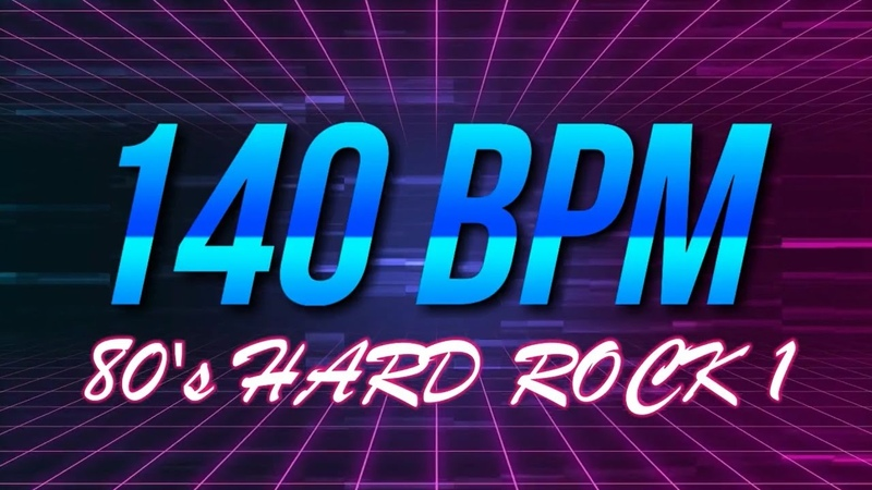 140 BPM 80's Hard Rock 4 4 Drum Track Metronome