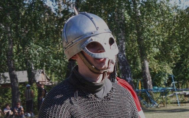 Визитная карточка викинга — «шлем из Гъермундбю»
