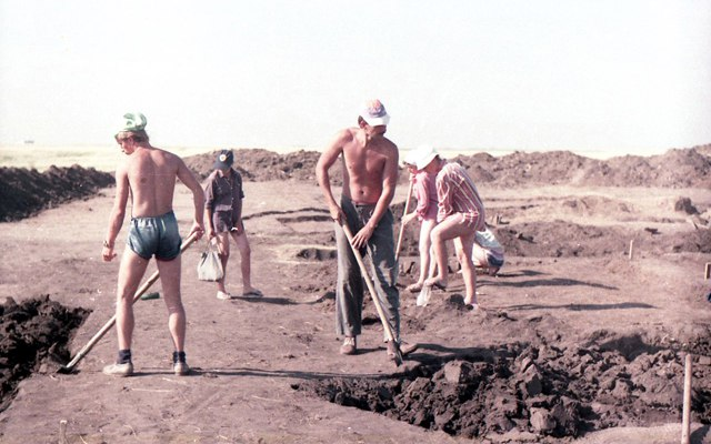 Раскопки 70х-80х / Фотоотчет