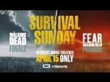 «Бойтесь ходячих мертвецов» -- финал 8 сезона ХМ и премьера 4 сезона БХМ в кинотеатрах