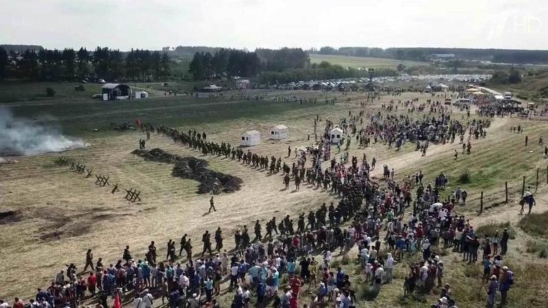Героические события Великой Отечественной оживают наполях Орловщины Новости Первый канал