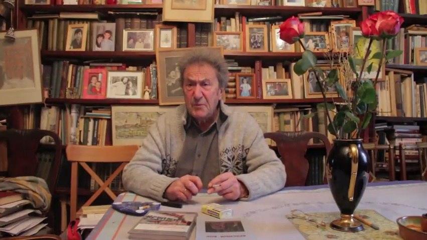 Поэт Игорь Губерман записал видеообращение в защиту историка Юрия Дмитриева