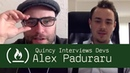 Software Engineer and Creative Tim Co-Founder Alex Paduraru - Quincy Interviews Devs