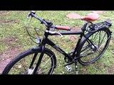 Diamant Saphir 247 городской велосипеддля зимы. Carbon Drive