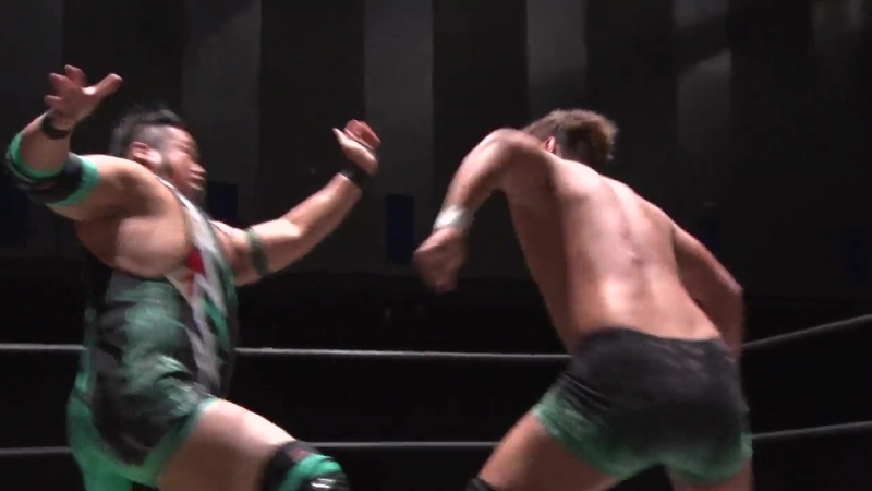 Keisuke Ishii, Kota Umeda, Mizuki Watase vs. Toru Owashi, Nobuhiro Shimatani (DDT - Road to Ryogoku 2018 ~ Dramatic Dream Tan)