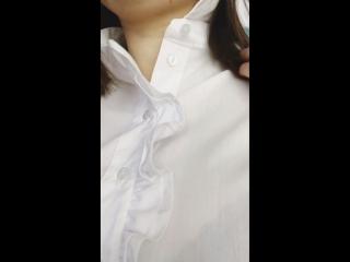 Блузка Белая фиалка