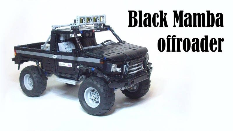 Lego technic Black Mamba offroader with sbrick
