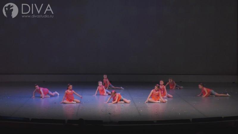 Детские современные танцы, 8-9 лет с номером