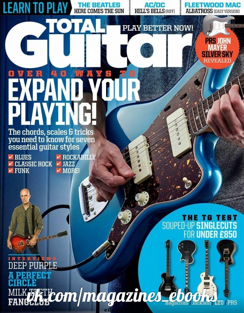 Total Guitar - May 2018 Overview: As Europe's best-selling