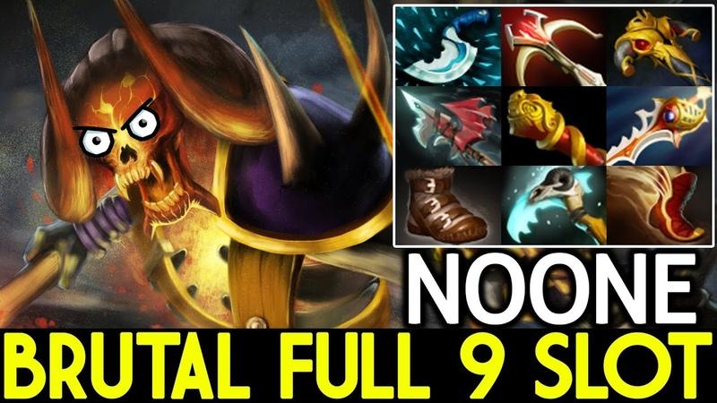 Noone [Clinkz] Brutal 25 Kills Full 9 Slot 7.19 Dota 2