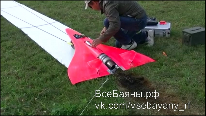 Самый быстрый реактивный самолетик