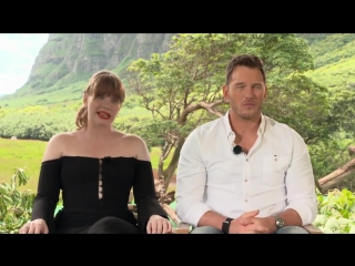 Bryce Dallas Howard  Chris Pratt Talk About Jurassic World_ Fallen Kingdom