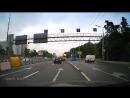 Падение столба Волоколамское шоссе.
