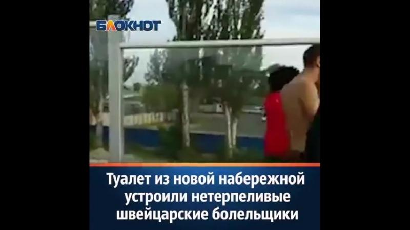 туалет из набережной устроили в Ростове