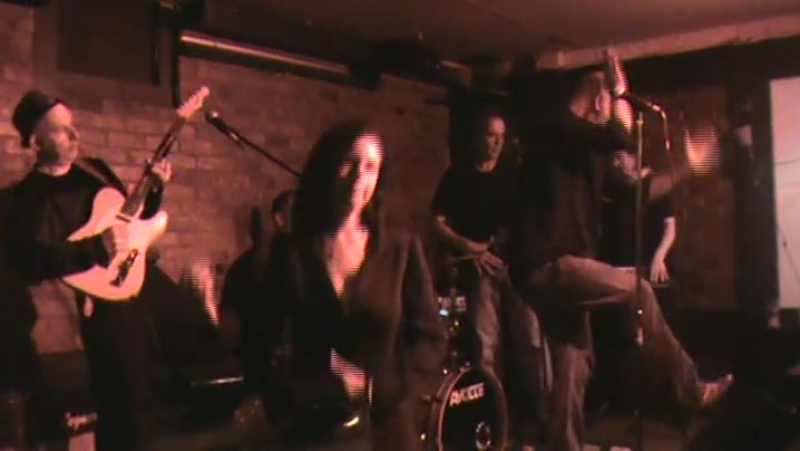Johnny MAX band JMB ROCKS at the Harp pub around 10 years ago