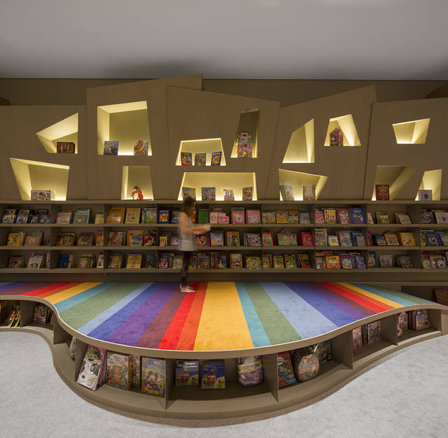 Rainbow Twisted Bookstore For Kids