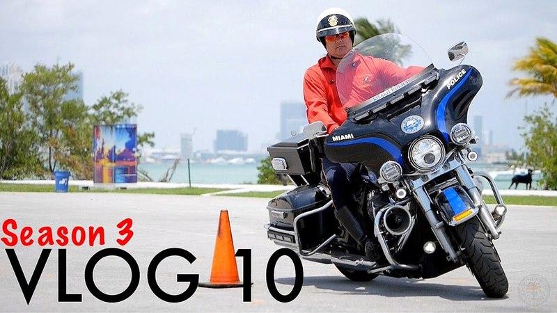 Miami Police VLOG 10 (Season 3): First Week of Motor School (влог о реальных рабочих буднях офицера полиции США, Майами)