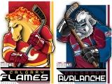 НХЛ Калгари–Колорадо