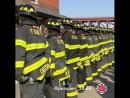 Посвящение новобранцев в пожарные Нью Йорка