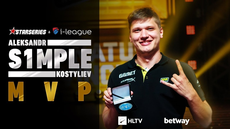 S1mple - HLTV MVP by betway of StarSeries i-League Season 5