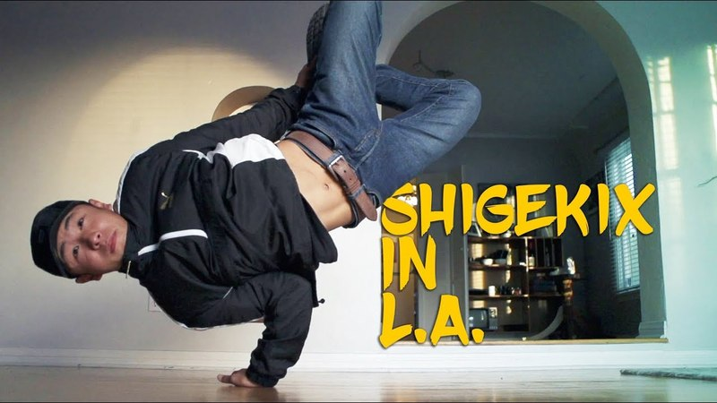 Bboy Shigekix in LA for Freestyle Session   YAK Breaking for Gold - Youth Olympic Games 2018 YOG