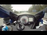 Suzuki GSX-R 1000 K7. 0 - 300 kmh