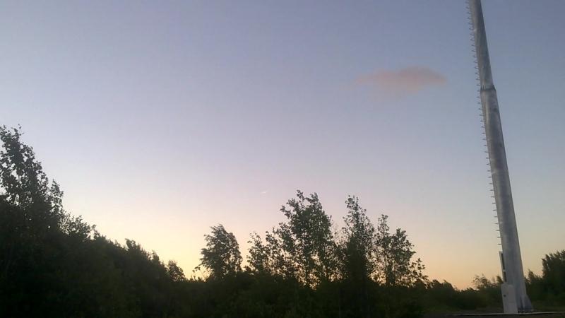 НЛО над Лисьим Носом 23.06.2018