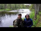 ЗАПОВЕДНАЯ РЫБАЛКА . ХАРИУС , ФОРЕЛЬ , быстрая река . fishing in the Reserve