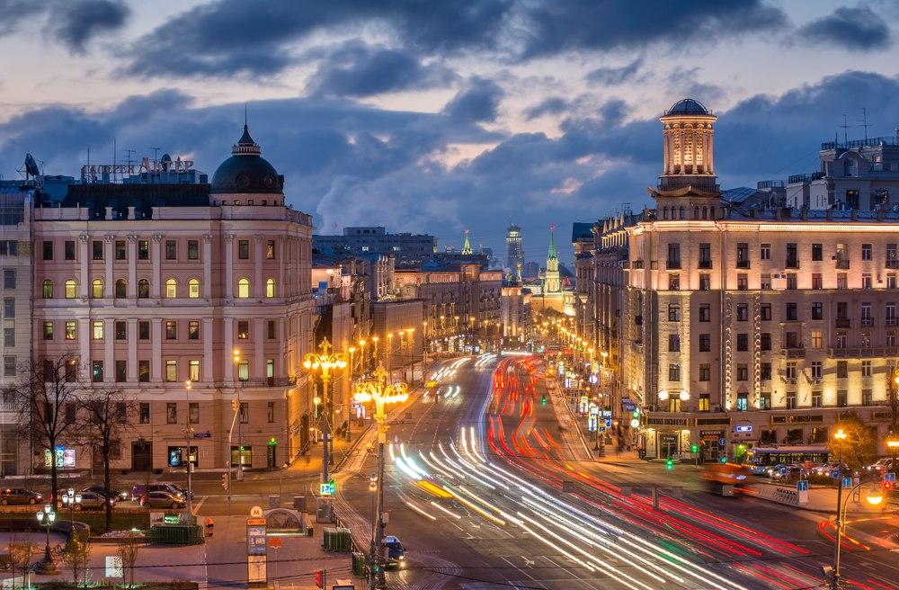 mh3cniOUXFA Тверская - главная улица Москвы