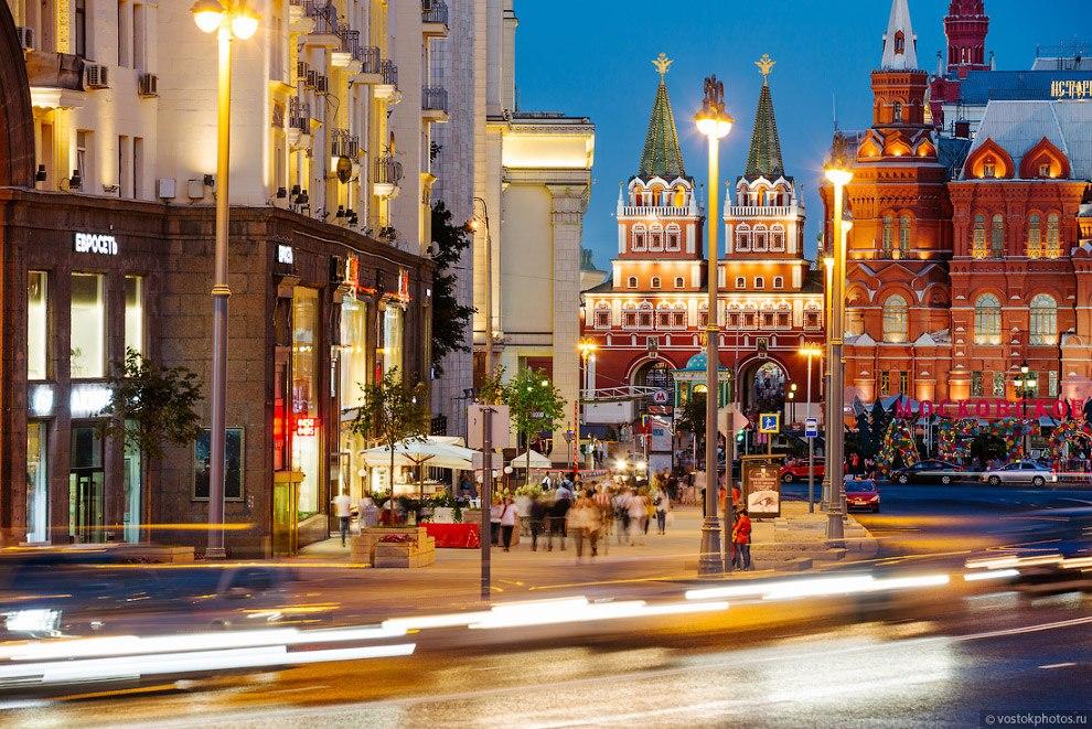 3ton6mAR41c Тверская улица - главная улица Москвы.